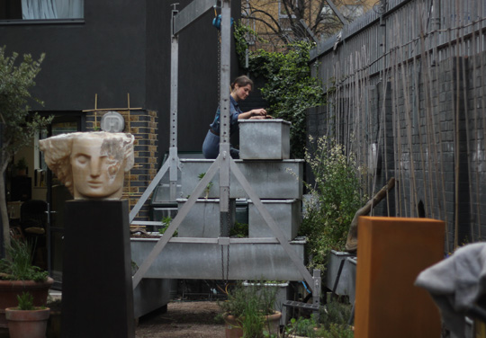 New Studio Garden with Mark Lutyens